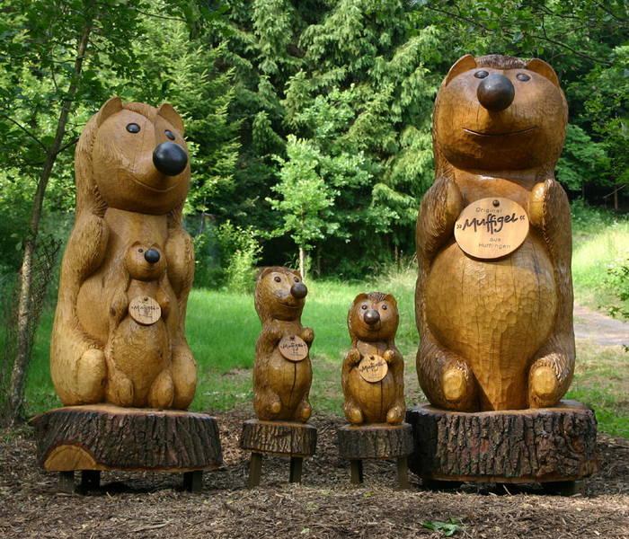 Artwork Muffigel-Familie